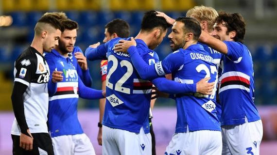Una Sampdoria senza mezze misure: solo due pareggi nel girone di andata