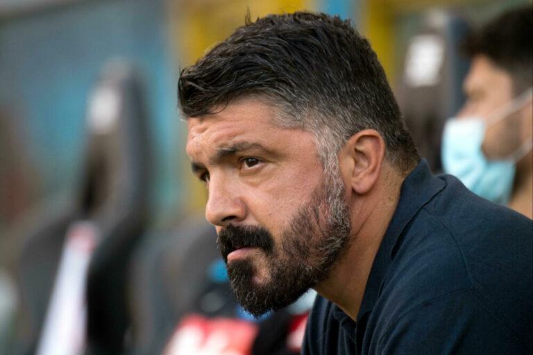 """Verona-Napoli, Gattuso: """"La responsabilità è mia, regaliamo tantissimo"""""""