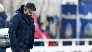 Espressioni blasfeme in Crotone-Napoli del 6 dicembre: ammenda di 3000 euro per Gattuso