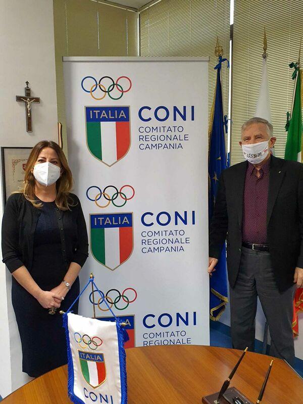 """Incontro Fortini-Coni: """"Nei prossimi cinque anni interventi per lo sport giovanile"""""""