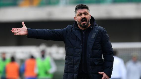 Napoli, la squadra abbraccia Gattuso che nel post-partita punge De Laurentiis