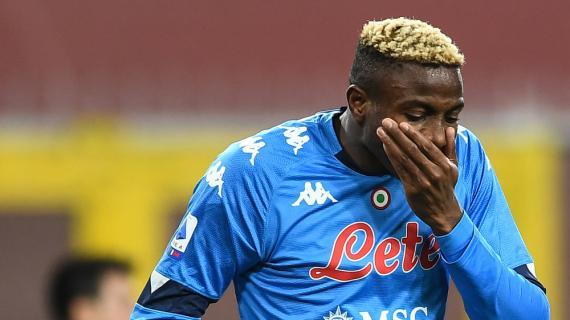 Napoli, per Osimhen titolare domani provino decisivo. Fabian Ruiz verso la convocazione