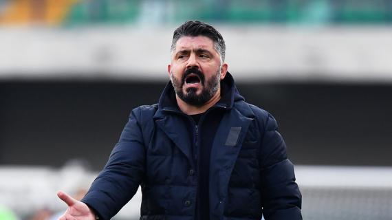 Napoli, prova difensiva molto sofferta: Gattuso sorride solo per il risultato