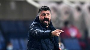 """""""Dobbiamo metterci i tappi alle orecchie"""". Rivedi le dichiarazioni di Gattuso dopo Napoli-Granada"""