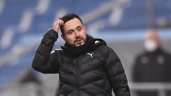 """Europa obiettivo del Sassuolo? De Zerbi: """"Mancano tante partite. Non c'è niente di definitivo"""""""