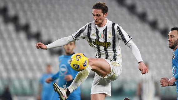 Juventus, Rabiot può partire: il francese può essere la chiave per Jorginho o Van de Beek