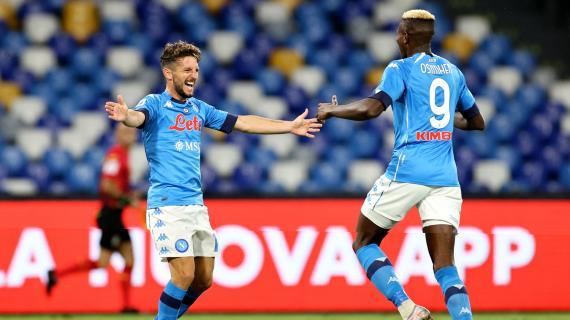Napoli, testa a testa per un posto contro la Roma: il grande dubbio di Gattuso