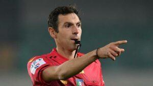 Serie A, designazioni arbitrali: derby di Genova a Pairetto. Sacchi per Juve-Spezia