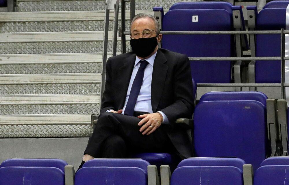 """""""Anche il Napoli potrà partecipare alla Superlega"""": parla Florentino Perez"""