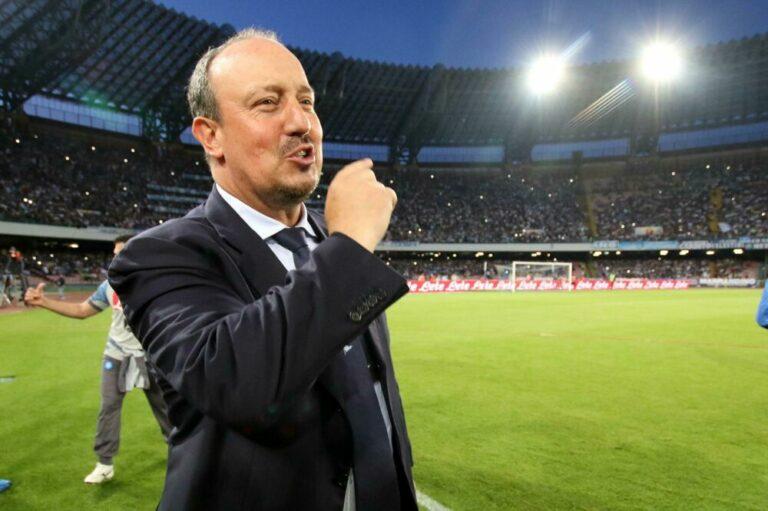"""Benitez: """"Un mio ritorno al Napoli? Ho un ricordo bellissimo, non so cosa accadrà in estate"""""""