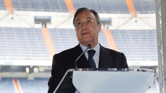 """Florentino Perez: """"I calciatori devono stare tranquillissimi, la UEFA non farà nulla"""""""