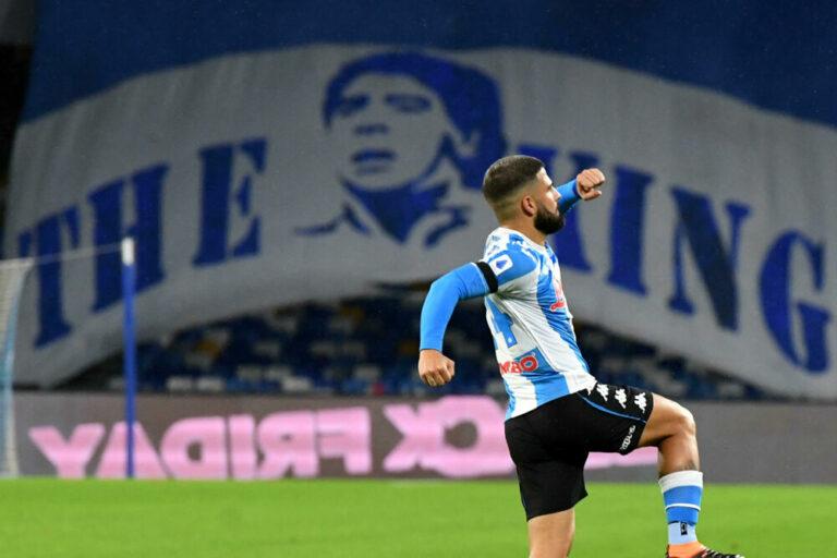 Insigne, gol speciale contro la Juve: superato Cavani e raggiunto Maradona in campionato