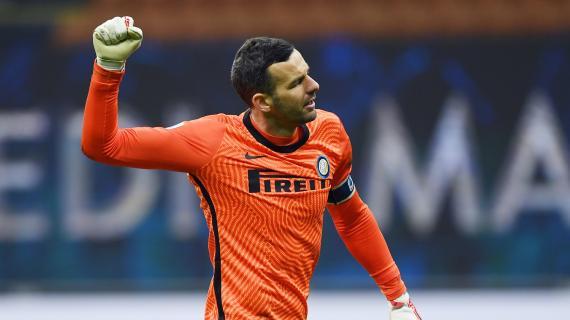 """Inter, Handanovic: """"Per giocare in porta serve un po' di follia. Ispirato da Schmeichel e Buffon"""""""