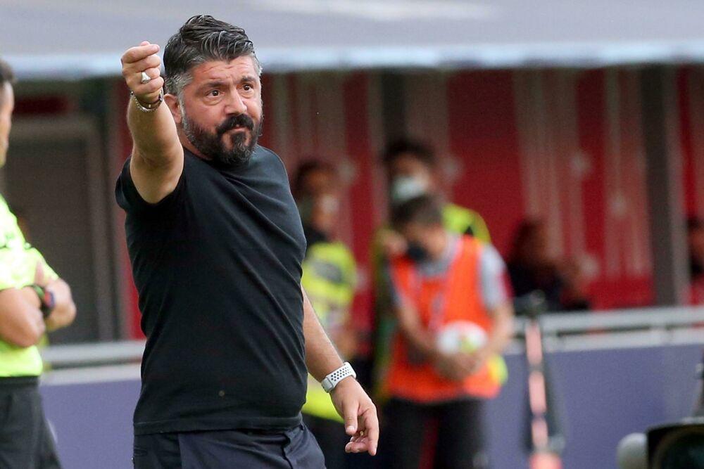 """Napoli, CorSport: """"Gattuso ha allontanato un azzurro dall'allenamento"""""""