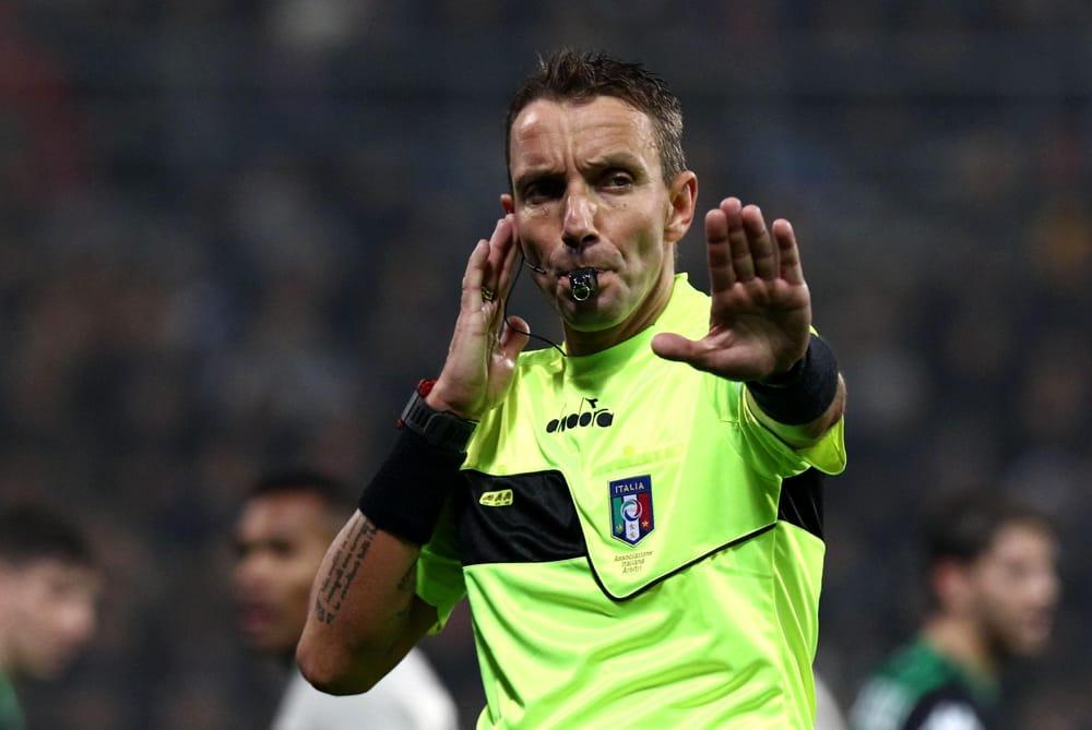 Napoli-Inter, designata la sestina arbitrale: al Var c'è Mazzoleni