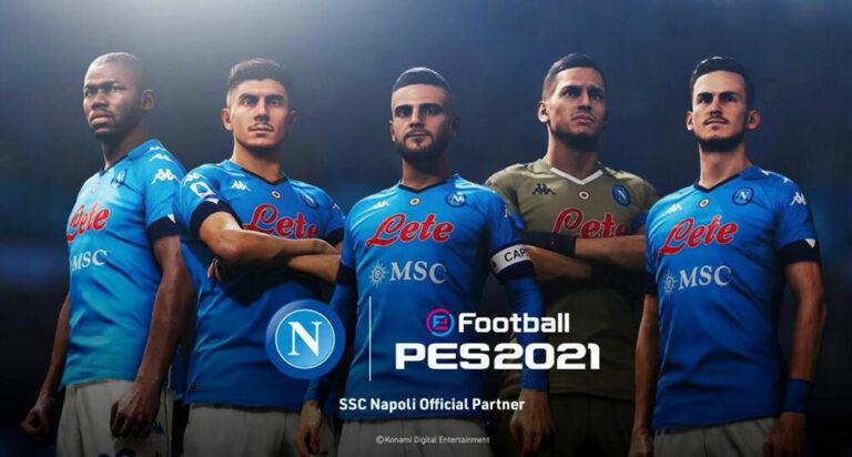 PES, il Napoli dà l'esclusiva a Konami. Addio Fifa e nuovo nome per il centro di Castel Volturno