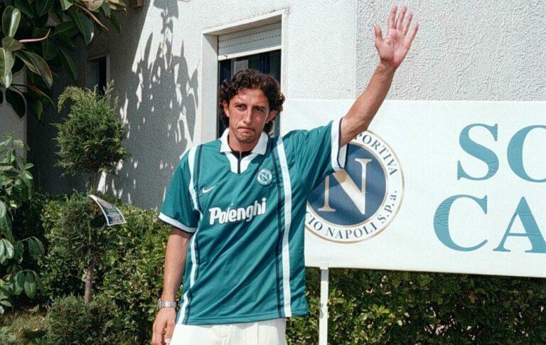"""Protti ricorda il suo Napoli: """"Calderon ha sofferto la preparazione. Ecco cosa ci disse Mazzone"""""""