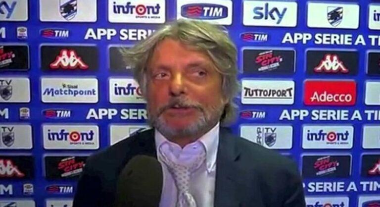 """Samp-Napoli, Ferrero: """"Amo la napoletanità. Voglio battere De Laurentiis perchè mi piace quando rosica"""""""
