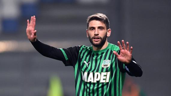 """Sassuolo, Berardi: """"Dobbiamo vincerle tutte per l'Europa League"""""""