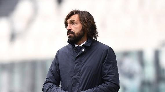 """Juventus, Pirlo: """"Preoccupa l'aspetto mentale, ora dobbiamo rialzarci subito"""""""