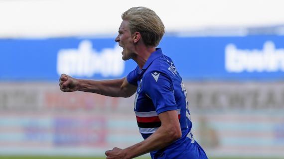 """Sampdoria, Thorsby avverte la Roma: """"Loro vorranno riscattarsi ma noi siamo in forma"""""""