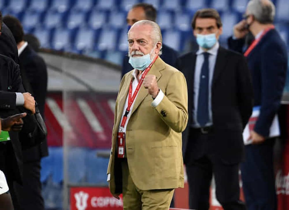 Spezia-Napoli, De Laurentiis fa i complimenti a Gattuso e alla squadra: il tweet del patron