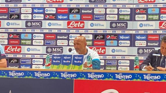"""Spalletti: """"Ounas resta al Napoli. Hanno salutato tre giocatori che avevano peso nella rosa"""""""