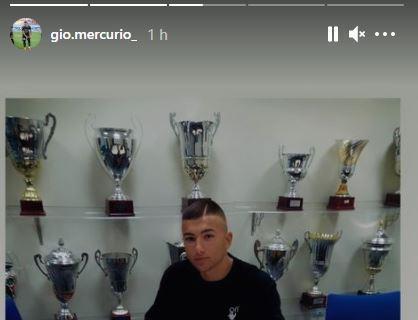 Napoli, in arrivo il talento del Bari Mercurio. La conferma social del giocatore