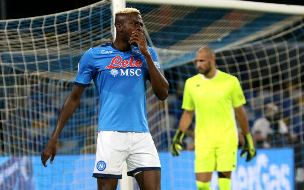 Squalifica Osimhen: il Napoli farà ricorso