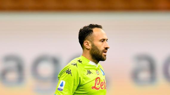 Napoli, Ospina sta bene ma proprio per questo rischia di saltare la Juventus