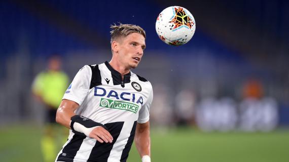 Udinese-Napoli, i convocati di Gotti: c'è Stryger Larsen, assente Success