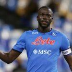 Koulibaly cala il tris sugli sviluppi di un calcio d'angolo. Udinese-Napoli 0-3 al 52'