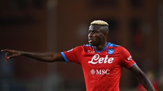 Napoli, Osimhen ha già attratto le big europee: piace a Chelsea, Man City, Real e PSG