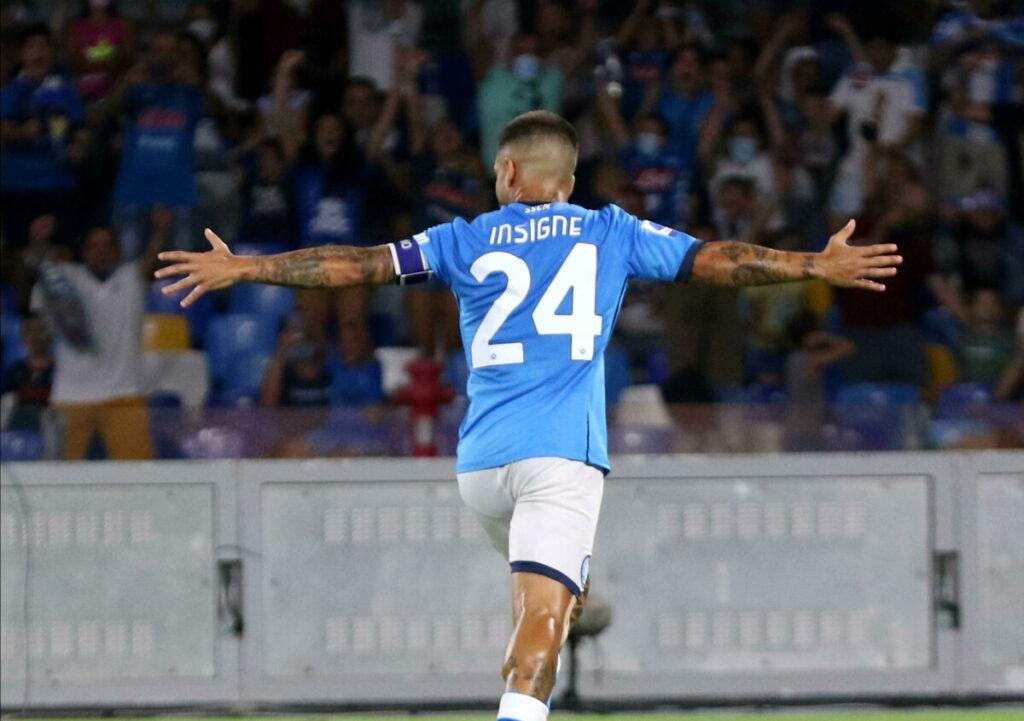 """Udinese-Napoli, Insigne: """"Dobbiamo restare con i piedi per terra e proseguire così"""""""