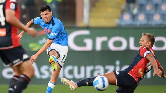 """Napoli, Lozano torna sull'infortunio in nazionale: """"Ho rischiato di lasciare moglie e figli"""""""